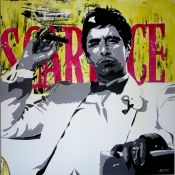 Al Pacino. Scarface Pop Art