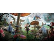 Alice in Wonderland. Panoramic