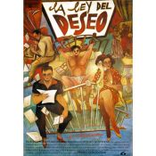 Giant Mural. Law of Desire. Pedro Almodovar