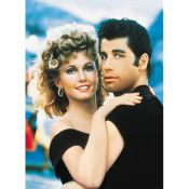 Grease. John Travolta and Olivia Newton John.