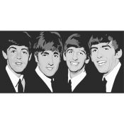 The Beatles. Black and White