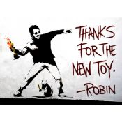 Banksy: Thanks for the new toy