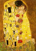 Lamina Gustav Klimt, The Kiss