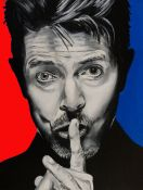 David Bowie. Retrato Pop Art.