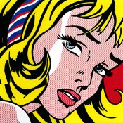 Lichtenstein, Ribbon Girl
