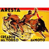 Aresta, Bullfighting in Motocycle
