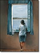 Dali, Woman at the Window