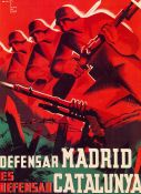 Spanish Civil War, Defensar Madrid