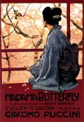 Poster Opera: Madame Butterfly