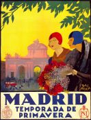 Art Nouveau: Madrid in Spring