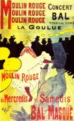 Modernist Art: Toulouse Lautrec, Moulin Rouge