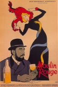 Toulouse Lautrec, Moulin Rouge