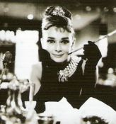 Audrey Hepburn in Breakfast at Tiffany's Portrait