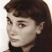 Audrey Hepburn, Portrait of Young