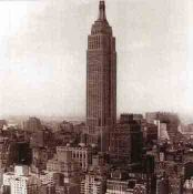 New York 1943: Empire State Skyscraper