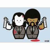 Pulp Fiction - Vincent & Jules - Blue