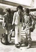 Jimi Hendrix & Band at the Airport