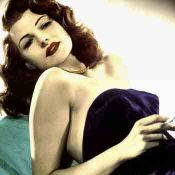 Rita Hayworth, Pin Up Americano