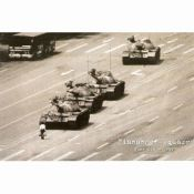 Tanks in Tiananmen