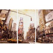 New York: Urban Art: Mural triptych