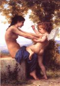 William-Adolphe Bouguereau, Cupid, Angels
