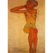 Egon Schiele, Seated Model