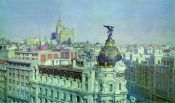 Hyperrealism: Urban Landscape Panoramic Madrid