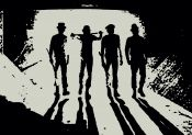 CLOCKWORK ORANGE: SILHOUETTE droogs