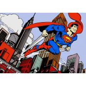 MURAL COMIC: SUPERMAN
