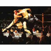 Bellows, Boxing: American Painting