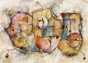 Eric Waugh, Bravo. Abstract Mural