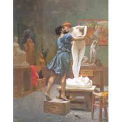Jean Leon Gerome, Pygmalion and Galatea