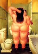 Botero, Woman in the Bathroom