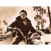 James Dean, Motorcycle