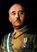 RETRATO de FRANCISCO FRANCO, El Caudillo. Color