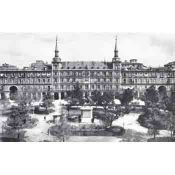 Plaza Mayor in Madrid 1900