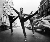 BAILARINES DE WEST SIDE STORY. FOTOGRAFIA