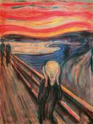 Cuadro Gigante de Edvard Munch: El Grito, The Scream