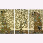 Gustav Klimt, Tree of Life, Triptych