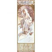 Art Nouveau: Alphonse Mucha, Seasons Winter