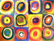 Wassily Kandinsky, Squares with Concentric Rings