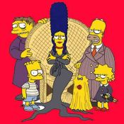 Adams Family Simpsons