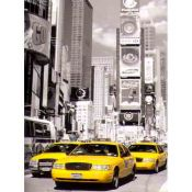 Taxis Amarillos en Times Square, New York