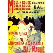 Arte Modernista: Toulouse Lautrec, Moulin Rouge