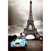 Paris in Blue, car Citroen 2CV
