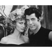 Grease Photo, Newton-John & Travolta