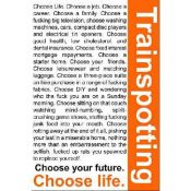 Trainspotting, Choose Life